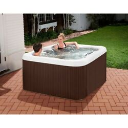 Spa with Jet Cover Insulated Outdoor Patio Porch Backyard Jacuzzi Hot Tub Family