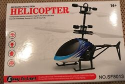 Lot Of 5 INFRARED INDUCTION SKY HELICOPTER $60.00