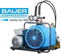 BAUER COMPRESSOR JUNIOR IIW with electric motor and 2pressure ranges scuba Dive