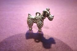 18 Pewter Poodle Dog Charms $9.99