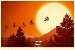 ET the extra terrestrial by Mike Mitchell -  Rare Sold out Mondo print