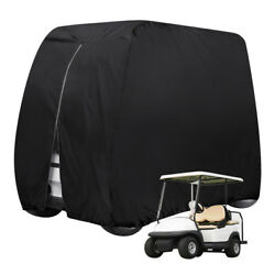 Waterproof 4 Passenger Golf Cart Cover Fits EZ GoClub CarYamaha Dust Sunproof
