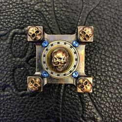 Steel Flame 3-D Copper Mini Warrior Ring Spin