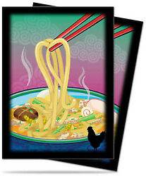 Novelty Food Ramen Sleeves 50ct Ultra Pro GAMING SUPPLY BRAND NEW ABUGames $3.99