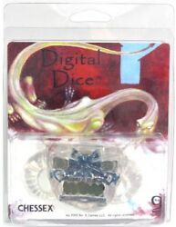 Digital Dice Clear Chessex GAMING SUPPLY BRAND NEW ABUGames $24.99