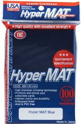Hyper Mat Sleeves 100ct Blue KMC GAMING SUPPLY BRAND NEW ABUGames $10.99