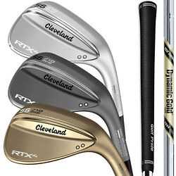 Cleveland RTX 4 Blade Wedges - Pick from 2019 Raw Black or Tour Satin $89.99