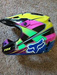 Fox motocross V1 pilot helmet NEW $150.00