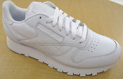 Reebok Classic Leather R12 Mens White Walking Shoes NWD Medium NO BOX $44.99