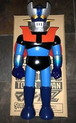 SECRETBASE BIG SCALE 18 INCH BLUE MAZINGER Z SECRET BASE マジンガーZ mazinga sofubi