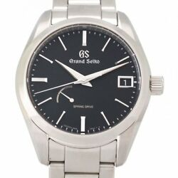 Seiko Grand Seiko SBGA285 9R65-0BH0 Spring Drive Automatic Auth Mens Watch Works