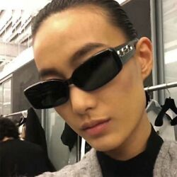CEO Pop Sunglasses Rectangular Designer Fashion Eyewear Ladies Men Small Shades $10.44