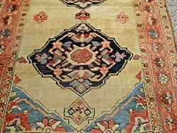ANTIQUE PERSIAN KURDISH BIDJAR SELLING AT COST RUG CAMEL FIELD HYDE PARK ESTATE
