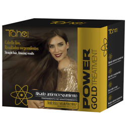 Tahe POWER GOLD Smoothing anti frizz Straight hair Pack 4 product $39.99
