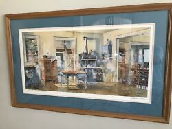 Charles L Peterson quot;And Apple Piequot; Framed Art Ltd Collectors Edition FREE SHIP $2100.00