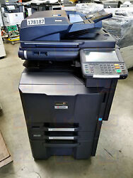 Kyocera TaskAlfa 2550ci A3 Color Laser Copier Printer Scanner Less 125K 3050ci