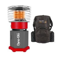 Dyna-Glo 10K BTU HeatAround 360 Portable Recreational Heater with Carrying Case  $150.00