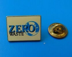 Zero Waste Pin Environment Recycle Green Compost Pin Lapel Épinglette C $3.49