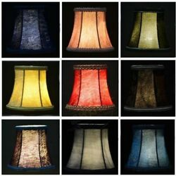 Vintage Small Lampshade Velvet Fabric Lamp Drum Shade Table Ceiling Light Cover $11.99