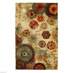 8X10 AREA RUG INDOOR OUTDOOR Carpet Mohawk Home Modern Large Living Room Floral