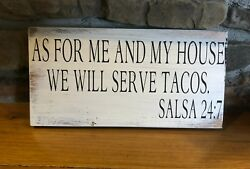 funny sign rustic home decor hand made farmhouse primitive humor kitchen $12.99