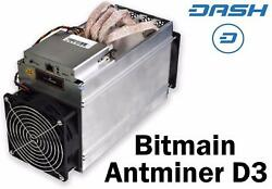 ANTMINER D3 - NEW - IN STOCK - READY TO SHIP