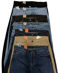 Levis 501 Original Fit Men#x27;s Jeans Levi#x27;s Straight Leg 29 30 31 32 33 34 36 38 $48.00