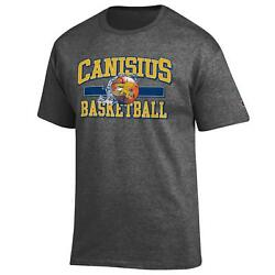 Canisius College Basketball NCAA Grey T Shirt By Champion $21.99