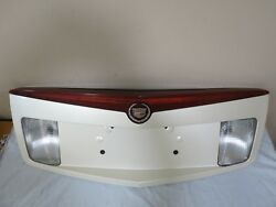 03 04 05 06 07 Cadillac CTS Trunk Lid Backup License Plate Garnish 3rd Light