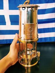 ATHENS 2004 Olympic Torch Relay Flame Lantern Safety Lamp Greece Extremely Rare