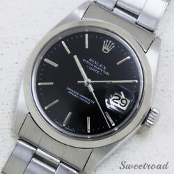 Rolex Oyster Perpetual Date Ref.1500 Vintage Automatic Auth Men's Watch Works
