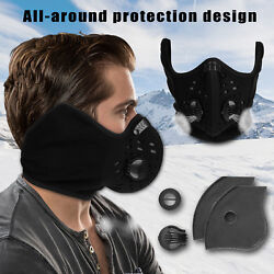 Anti Dust Filter Half Face Mask Cycling Bike Bicycle Motorcycle Racing Sport Ski