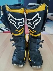 Vintage FOX motocross RACING BOOTS ..NEVER WORN $180.00