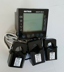 Electric Smart Meter TCP IP amp; modbus kWh energy amp; power analyser 3 CTs included $209.00