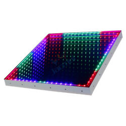 2pcs Hot Sell DMX 3D Time Tunnel RGB LED Light Dance Floor For Nightclub Wedding $400.00