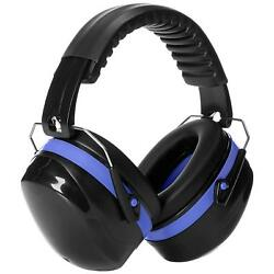 Blue Noise Reduction Headphones Shooting Earmuff Gun Range Ear Sound Protection  $19.98