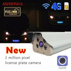 1080P Outdoor 3G 4G Wired Wifi IP Camera Car Parking license plate recog