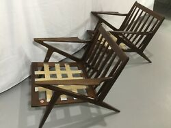Mid-Century Modern ( BEST AVAILABLE) Z Lounge Chair by Poul Jensen for Selig