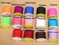 Braided Polyester Macrame Thread 90m 1mm Chinese Knot Rope Nylon Cords