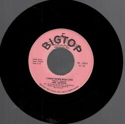 Mel Gadson: Comin' Down With Love  I'm Gettin Sentimental Over You 7 in Record