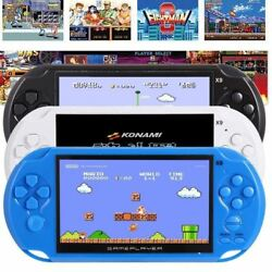 5.1 inch X9 Rechargeable 8G Handheld Retro Game Console Built-in 10000 Games