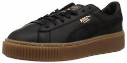 PUMA Women's Basket Platform Euphoria Gum Sneaker - Choose SZColor