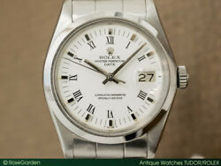 Rolex Oyster Perpetual Date Ref.1500 Cal.1570 Automatic Auth Men's Watch Works