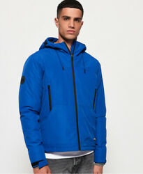 Mens Superdry Padded Elite SD-Windcheater Jacket Electric Blue
