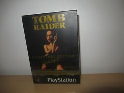 Tomb Raider : Collectors Edition - PlayStation 1 Game - Australian PAL Version