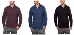 Calvin Klein Jeans Men's ¼ Zip Pullover Sweater - Color&Size: VARIETY NWT!!