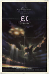 E.T.: The Extra-Terrestrial 1982 27x41 Orig Movie Poster FFF-72993 Rolled