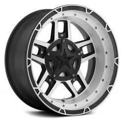 XD Series Wheels 17x9 (-12 5x127 72.6) Rims Set of 4