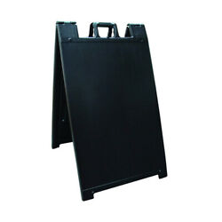 Signicade Portable Folding A-Frame Sidewalk Sandwich Board Sign- 24
