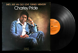Charley Pride She's Just An Old Love Turned Memory Vinyl LP 1977 RCA PL 12261